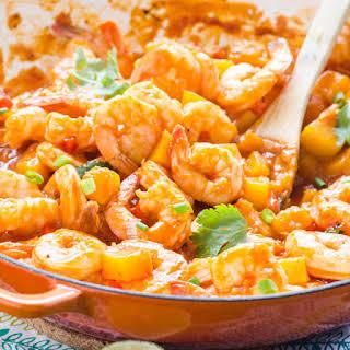 30 Minute Thai Coconut Shrimp Curry.