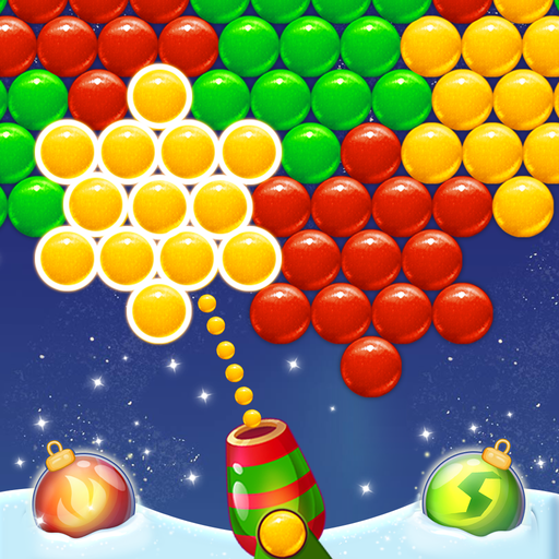 Bubble Pop Santa