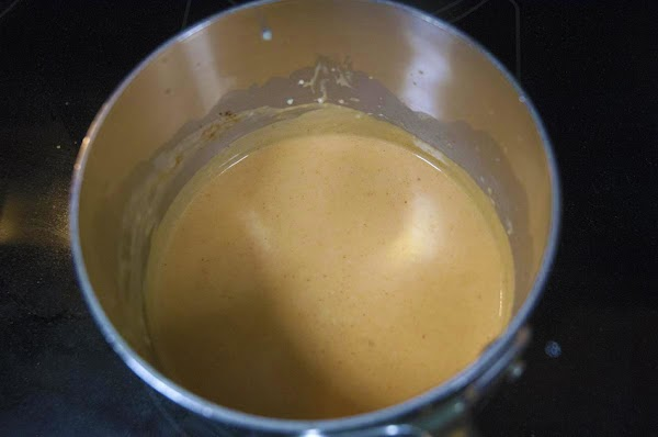 Turn up the heat to medium and whisk until the mixture begins to lightly...
