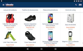 Screenshot of idealo Price Comparison