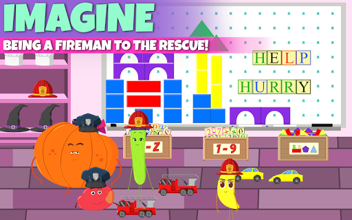 Supermarket - Fruits Vs Veggies Kids Shopping Game - screenshot