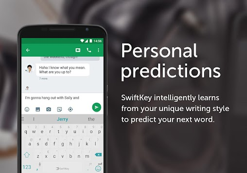 Teclado SwiftKey APK screenshot thumbnail 1