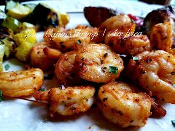 ~ Spicy Cajun Shrimp ~ Air Fried