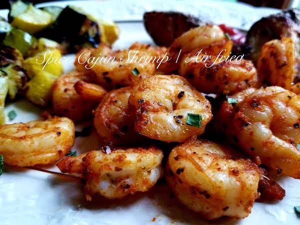 ~ Spicy Cajun Shrimp ~ Air Fried