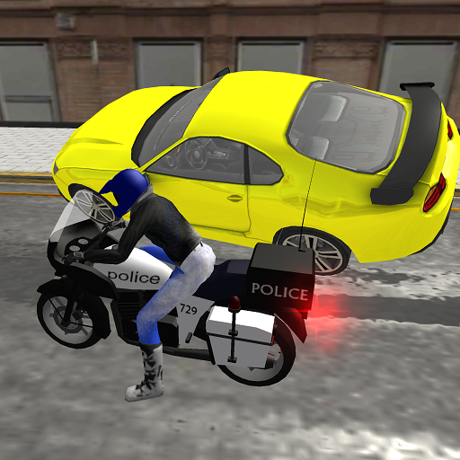 警用摩托車特技3D 模擬 App LOGO-APP試玩