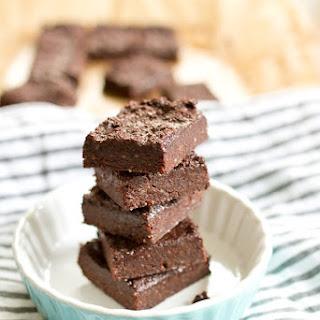 Katie's Ultimate Unbaked Brownies.