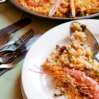 Shellfish Paella (Paella de Marisco) From 'Spain'.