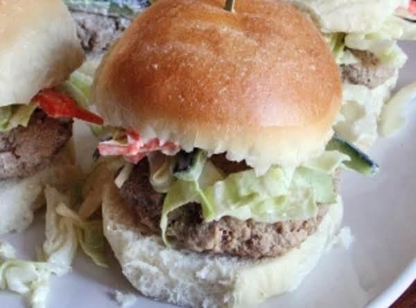 Ranch Chicken-burger Sliders Recipe