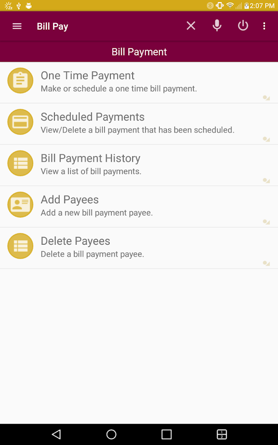 Community 1st Bank Mobile- screenshot