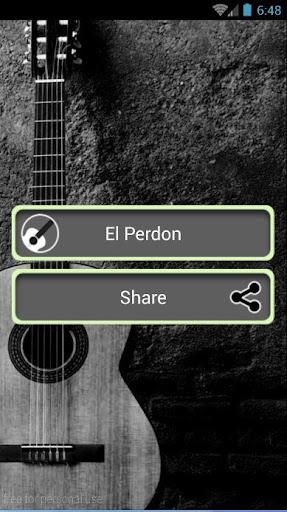 El Perdon - Acoustic