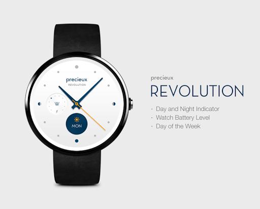 Revolution watchface by Precie