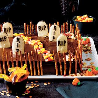 Deserted Graveyard Cake
