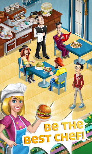 Android Games • Chef Town: Cooking Simulation v5.2 Mod (Free Shopping)