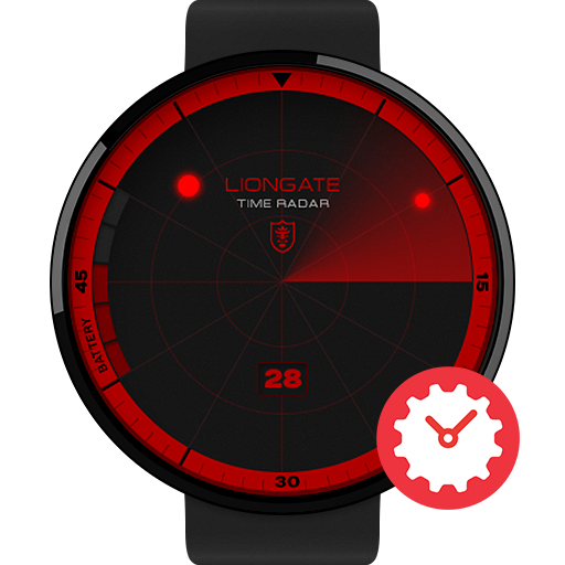 Time Radar watchface by Liongate