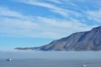 Photo: la baie de longyearbyen