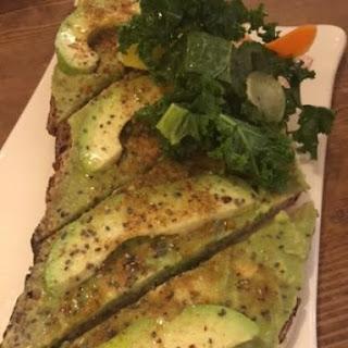 Avocado Toast with Kale Salad