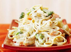 Chicken Linguine With Pesto Sauce Recipe