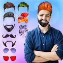 Man Hair Mustache Style  PRO : Boy Photo Editor icon