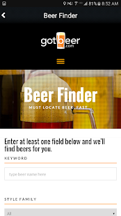 gotbeer.com- screenshot thumbnail