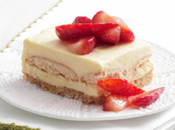 Strawberry Shortcake Squares Recipe