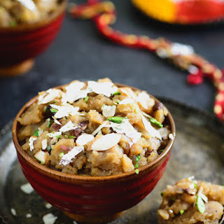 Aate ka Halwa /Whole Wheat pudding