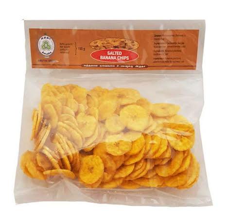 Salted Banana Chips 150g Amutha