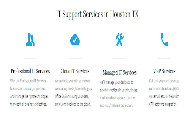 Houston IT Support and Managed IT Services