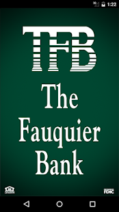 The Fauquier Bank Mobile- screenshot thumbnail