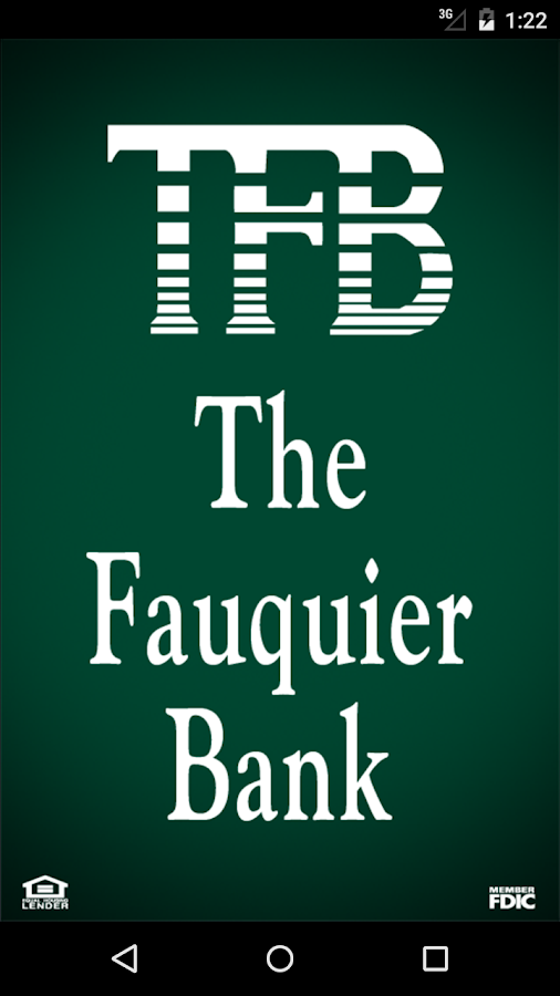 The Fauquier Bank Mobile- screenshot