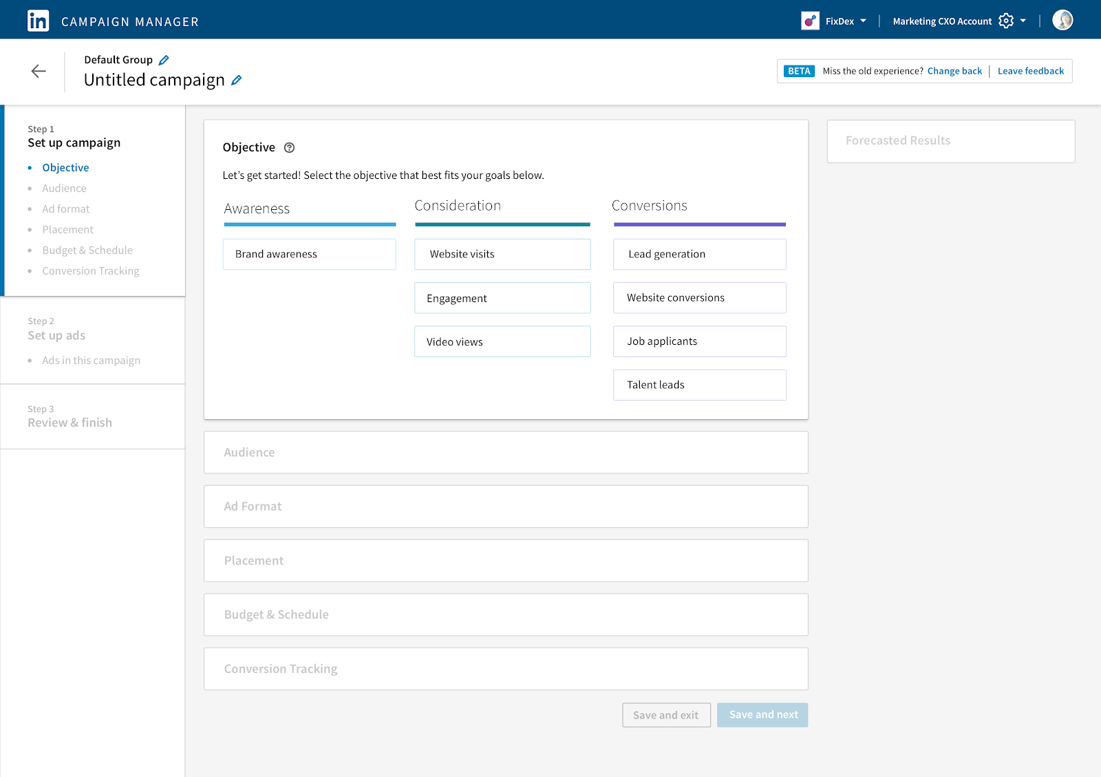 Setting Campaign Goals for LinkedIn Lead Gen Campaigns 4
