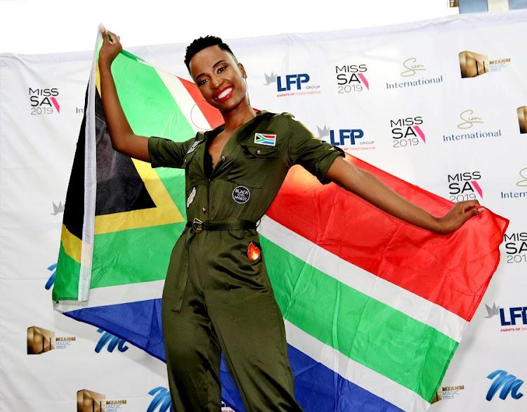 Zozi is flying the SA flag high.