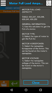 Download Z7 - Electrical Code Tables APK latest version app for