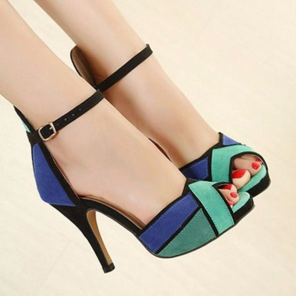all-types-of-shoes-for-women_peep_toe_heels
