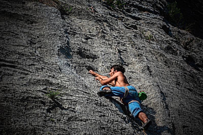 La scalata di Patrix