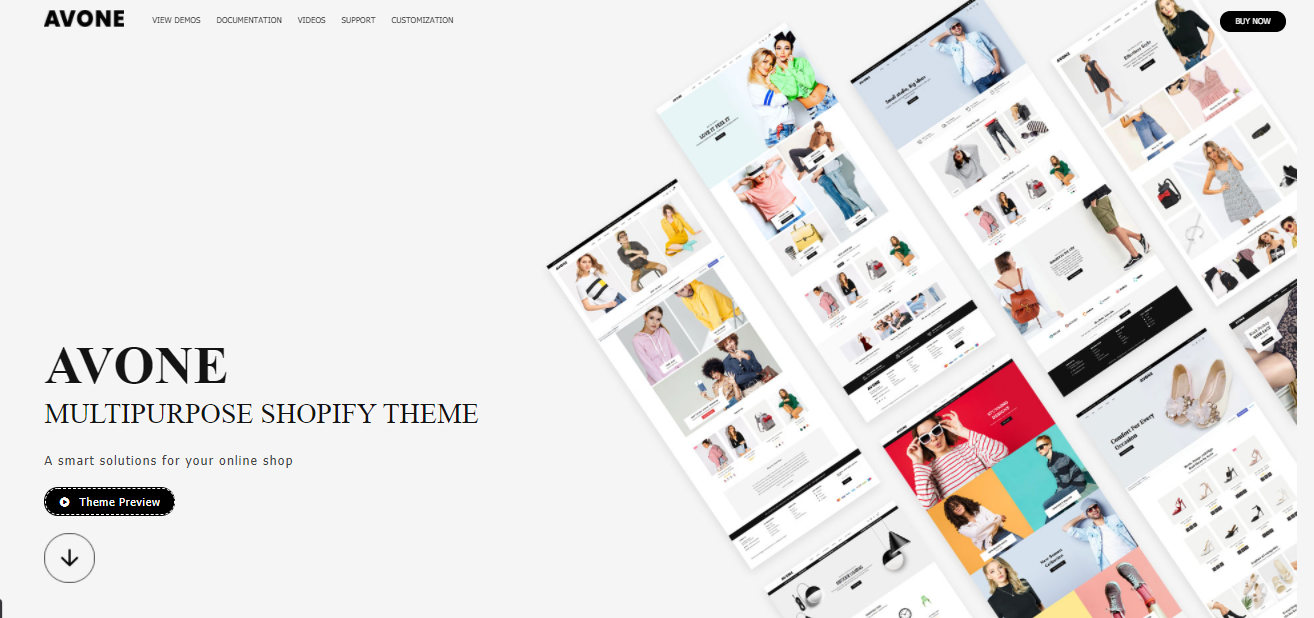 Avone - Best free shopify theme for dropshipping