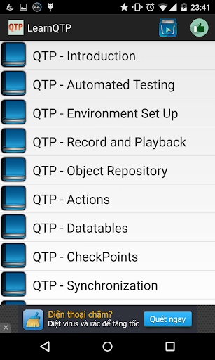 Learn QTP Offline