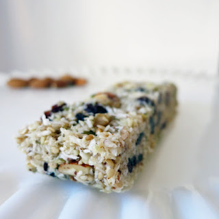 Paleo Nut and Berry Granola Bars.