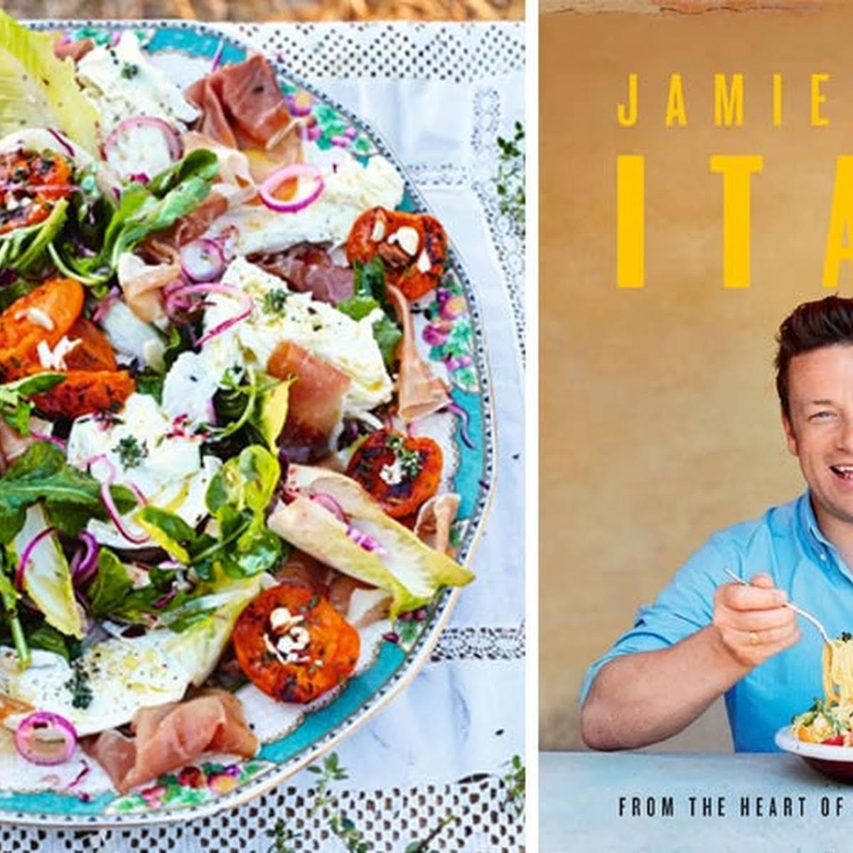 Jamie Olivers Grilled Apricot Salad