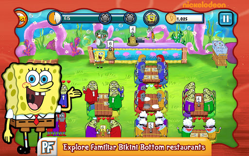 SpongeBob Diner Dash screenshot 8
