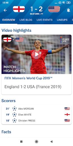 FIFA - Tournaments, Soccer News & Live Scores 4.3.203 screenshots 2