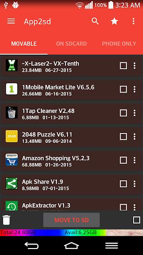 App2sd Card- Move App2sd Pro