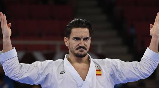 Damián Quintero asegura una nueva medalla al clasificarse para la final karate