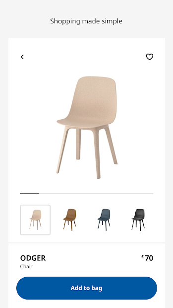 IKEA Android App Screenshot