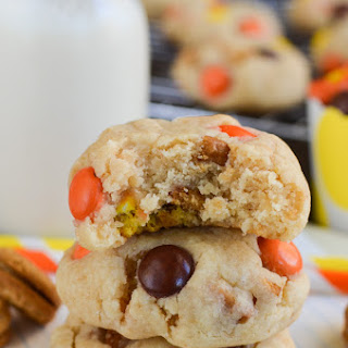 Nutter Butter Reese's Pieces Cookies.