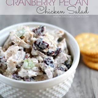 Cranberry Pecan Chicken Salad.