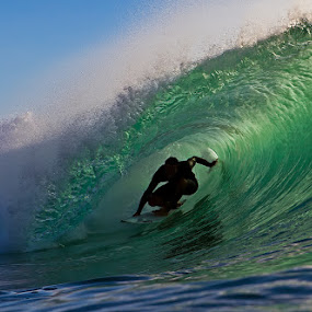 Green Room Bali by Trevor Murphy - Sports & Fitness Surfing ( water, bali, surfing, waves )