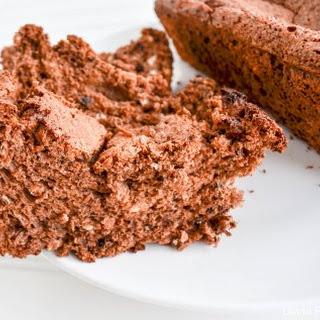 Chocolate Angel Food Cake Loaf