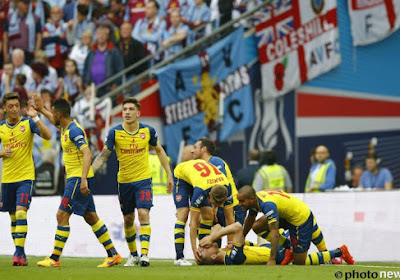 Cet Arsenal là était beaucoup trop fort pour Benteke et Aston Villa