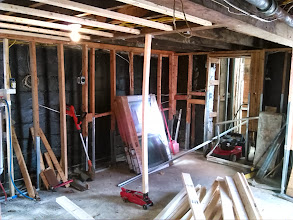 Photo: Destroyed basement from Sandy Island Park NY