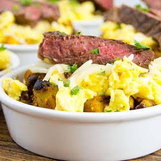 Bison Breakfast Bowls.